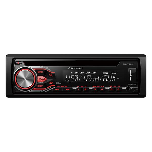 Pioneer car radio iPod control