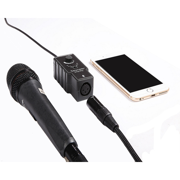 Mic conector for mobilephone