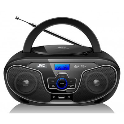JVC PORTABLE RADIO CD