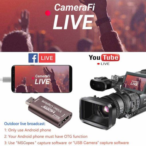 HDMI TO USB LIVE STREAMING